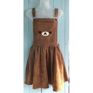 Bear Overall Skirt